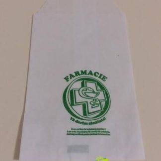 Punga farmacie mica 7x12cm (5000buc / bax)