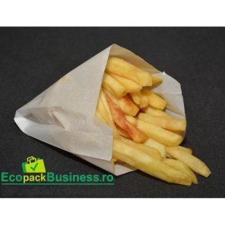 Punga cartofi mica 11x12+4cm (1500bucati/bax)