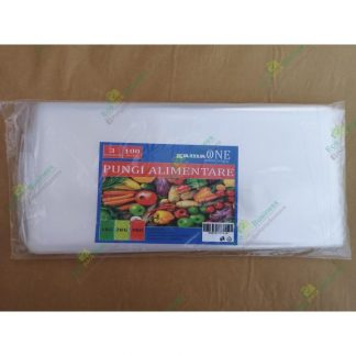 Pungi alimentare congelator 3kg (100bucati/set) (40x30cm)